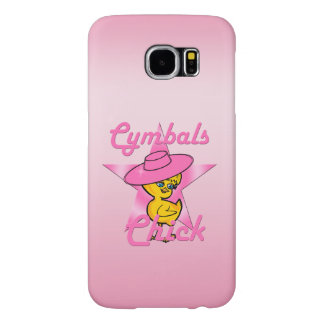 Cymbals Chick #8 Samsung Galaxy S6 Cases