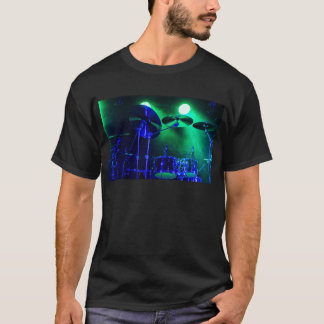 Cymbals in the Fog T-Shirt