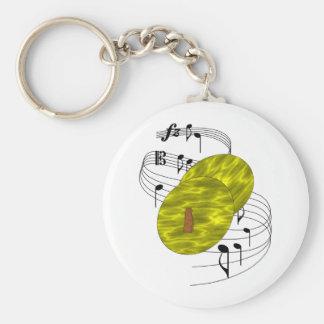 Cymbals Key Ring