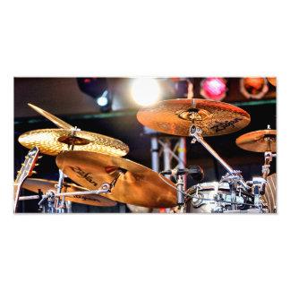 Cymbals Photo Print