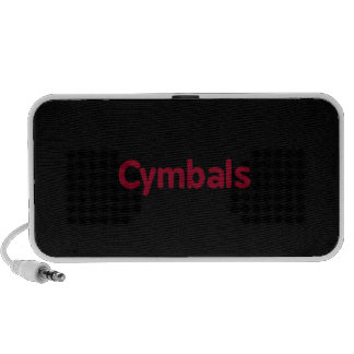 cymbals text burgundy speakers