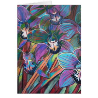 Cymbidium Carnival 2 Card
