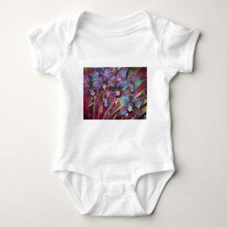 Cymbidium Orchid Carnival Baby Bodysuit
