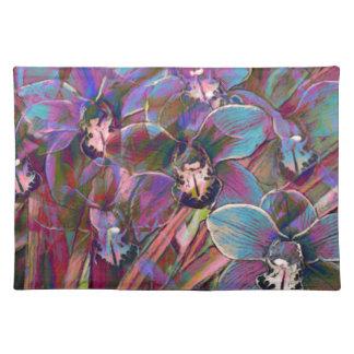 Cymbidium Orchid Carnival Placemat