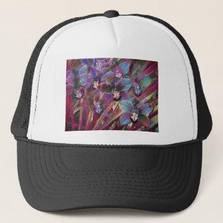 Cymbidium Orchid Carnival Trucker Hat
