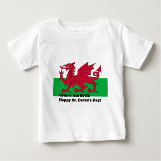Cymru Am Byth - Happy St. David's Day T-shirt