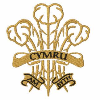 Cymru am Byth - Modern Welsh Feathers Polo