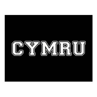Cymru Postcard