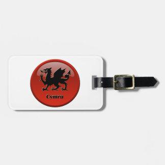 Cymru, Wales Luggage Tag