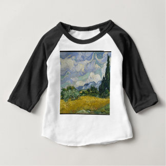 Cypress Grove and Wheat Field Baby T-Shirt