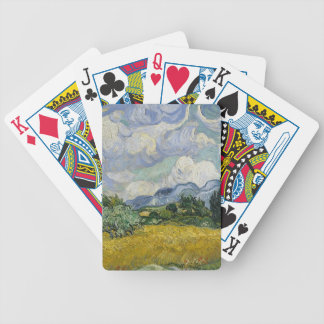 Cypress Grove and Wheat Field Bicycle Playing Cards