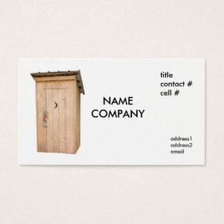 cypress outhouse business card