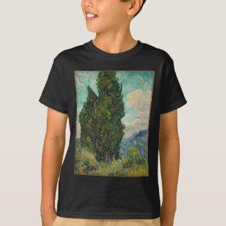 Cypress Tree at Night T-Shirt
