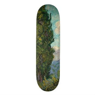Cypresses by Vincent Van Gogh Skate Deck