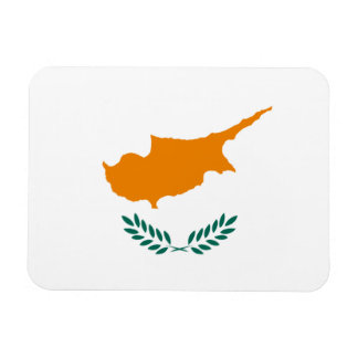 Cypriot Flag Rectangular Photo Magnet