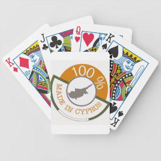 CYPRUS 100% CREST BICYCLE PLAYING CARDS