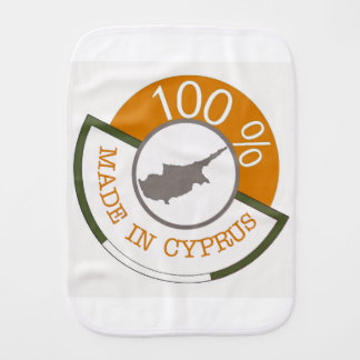 CYPRUS 100% CREST BURP CLOTHS