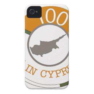 CYPRUS 100% CREST iPhone 4 Case-Mate CASES