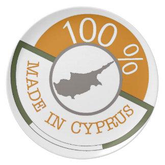 CYPRUS 100% CREST PLATE