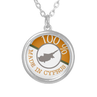 CYPRUS 100% CREST SILVER PLATED NECKLACE