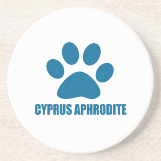 CYPRUS APHRODITE CAT DESIGNS COASTER