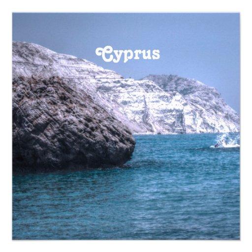 Cyprus Coast Invitations