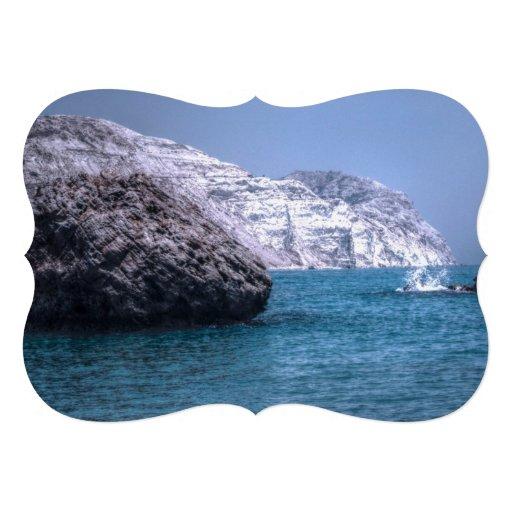 Cyprus Coast Custom Invites