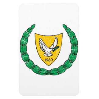 Cyprus Coat Of Arms Rectangular Photo Magnet