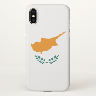 Cyprus country flag symbol long iPhone x case