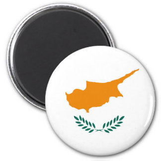 Cyprus country flag symbol long magnet