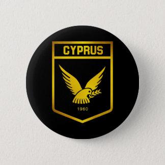 Cyprus Emblem 6 Cm Round Badge