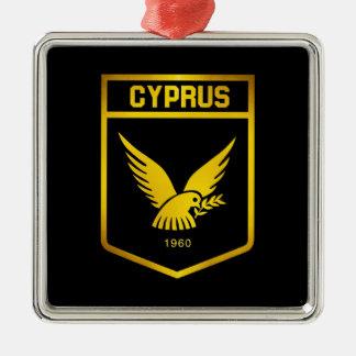 Cyprus Emblem Metal Ornament