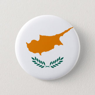 Cyprus Flag 6 Cm Round Badge