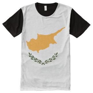 Cyprus Flag All-Over Print T-Shirt