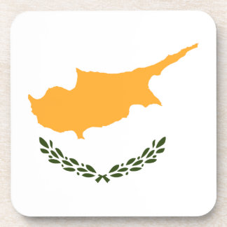Cyprus Flag Coaster
