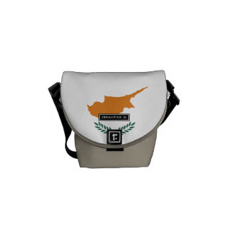 Cyprus Flag Commuter Bag