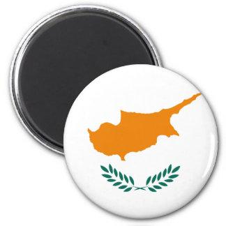 Cyprus Flag CY 6 Cm Round Magnet