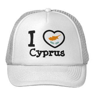 Cyprus Flag Mesh Hat
