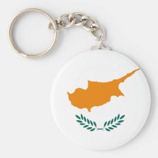 Cyprus Flag Key Ring