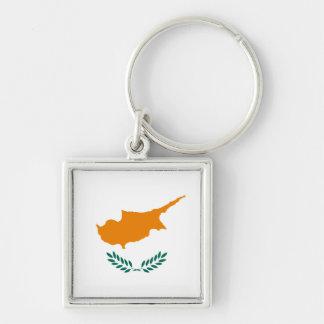 Cyprus Flag Keychain