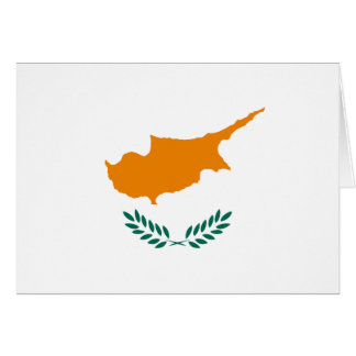 Cyprus Flag Note Card
