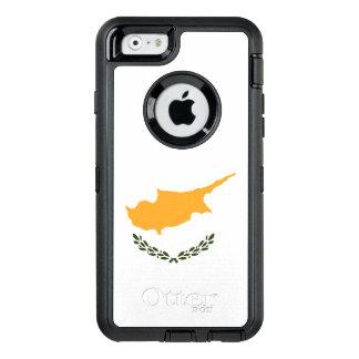 Cyprus Flag OtterBox Defender iPhone Case