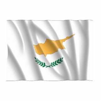 CYPRUS FLAG CUT OUT