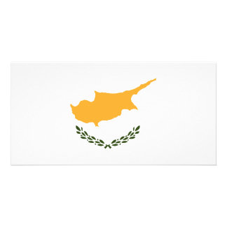Cyprus Flag Picture Card