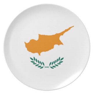 Cyprus Flag Plate
