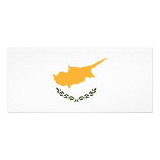 Cyprus Flag Rack Card