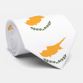 Cyprus flag tie