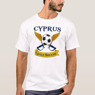 Cyprus Girls Soccer T-Shirt