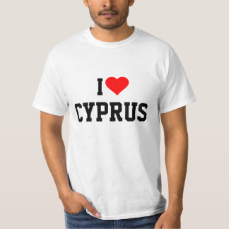 CYPRUS: I LOVE CYPRUS T-Shirt