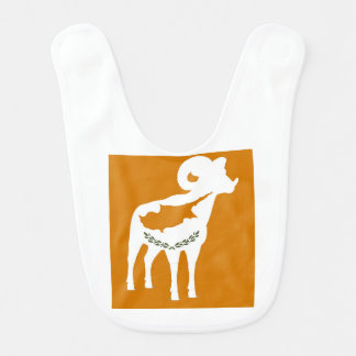 CYPRUS NATIONAL RAM BABY BIB